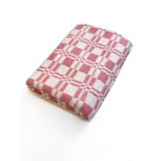 Одеяло хлопковое эконом Ярослав 140х205 розовое