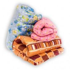 Набор спальный для общежития из 4 предметов - ватный матрас 70х190, подушка, одеяло и постельное белье