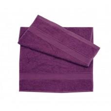 Полотенце махровое Ярослав (400 г/м2) 40х70 фиолетовое