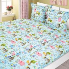 Комплект детского постельного белья Ярослав бязь 1,5-спальный t213