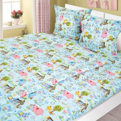 Комплект детского постельного белья Ярослав бязь 147х112 см t213