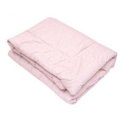 Одеяло детское стеганое овечье Ярослав (бязь) 105х140 розовое