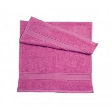 Полотенце махровое Ярослав (400 г/м2) 40х70 розовое