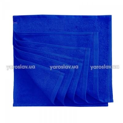 Набор салфеток махровых Ярослав 30х30 синие
