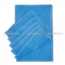 Набор салфеток махровых Ярослав 30х50 темно голубые