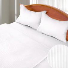 Комплект постельного белья для отелей сатин-страйп 200х220