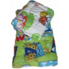 """Набор спальный для детей в садик """"Лайт"""" - ватный матрас 60х140 см, силиконовое одеяло и подушка  - от 5 шт"""