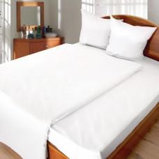 Комплект постельного белья для отелей бязь отбеленная 1,5-спальный